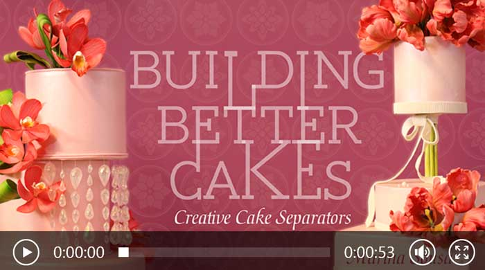 Building Better Cakes: Creative Cake Separators, with Marina Sousa
