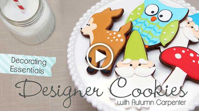 Decorating Essentials: Designer Cookies with Autumn Carpenter