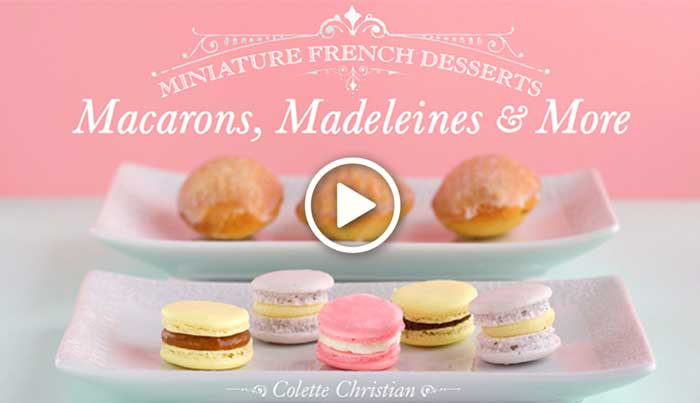 Miniature French Desserts