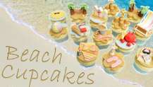 Beach Cupcakes Project