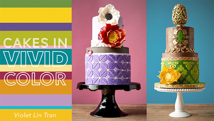Cakes in Vivid Color