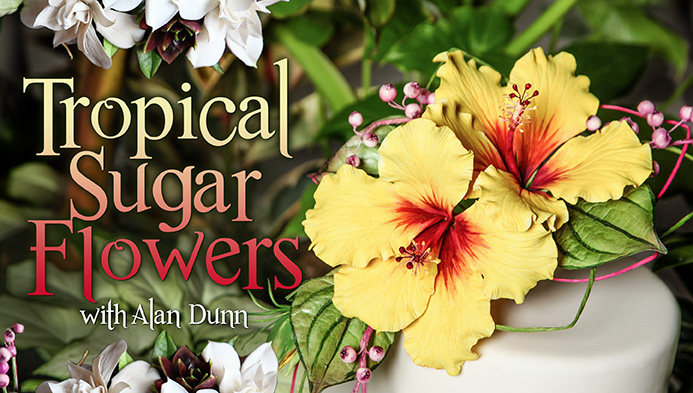 Tropical Sugar Flowers