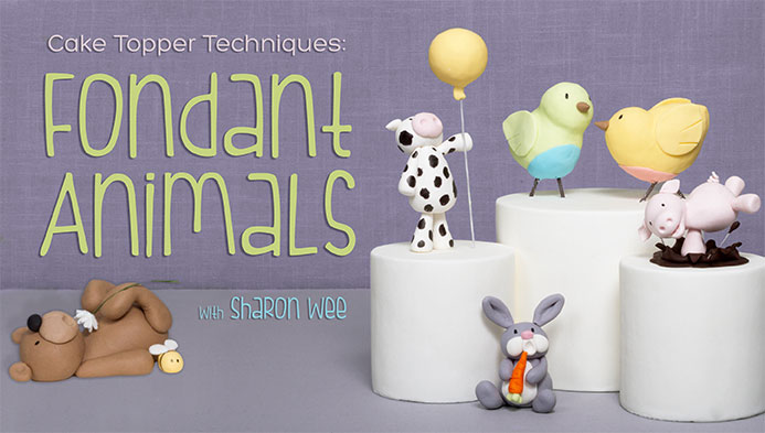 Cake Topper Techniques: Fondant Animals