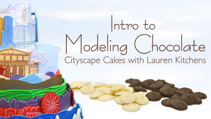 Cityscape Cakes: Intro to Modeling Chocolate