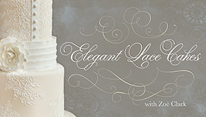 Elegant Lace Cakes with Zoe Clark