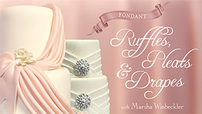 Fondant Ruffles, Pleats & Drapes