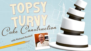 Topsy-Turvy Cake Construction