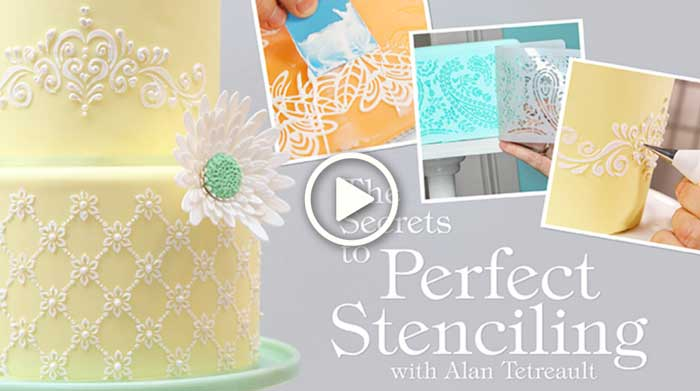 The Secrets to Perfect Stenciling, by Alan Tetreault