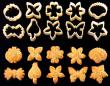 129 Traditional Assorted cookie cutter set 10 pcs