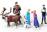 Frozen Princess Figurine Cake Topper 6 in 11