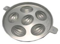 CNY Traditional 6 'Rugby' madeleine muffin tin kuih bahulu mould1
