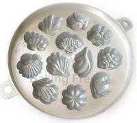 CNY Traditional 12 Leaf madeleine muffin tin kuih bahulu mould1