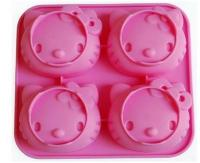 Cartoon Muffin Pan Hello Kitty Silicone Muffin Mould 4-in-11