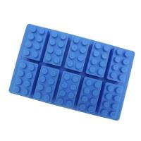 Cartoon Lego Brick Cake Silicone Mould 10-in-1 16051