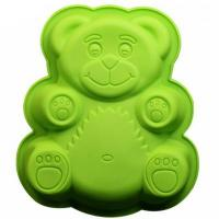 XL 10 inches Cartoon Cake Teddy Bear Silicone Mould1