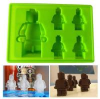 Cartoon Lego Man Silicone Mould 5-in-1 1512A1