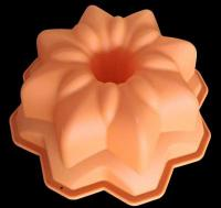 Fancy Bundt Tin Fluted Tube Silicone Cake Pan1