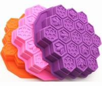 12 Inches Silicone Bee Honeycomb Cake Mold1