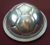 3D Sports Theme Small Football Cake Tin Soccer Sphere Pan1