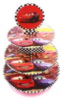 Lightning Mcqueen Cars 3 Tier Cupcake Stand1