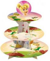 Cartoon Tinker Bell 3 Tier Cupcake Stand1