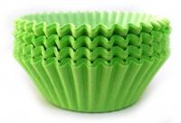 100  Apple Green Cupcake Cases1