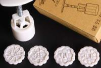 50g Chinese Wording Mooncake Cookie Press 4 pcs1