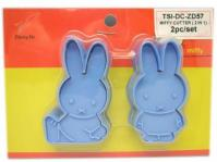 Cartoon Sping Easter Animals Miffy Rabbit Cookie Cutter Stamp1