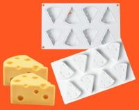 Silicone Cheese Mold 3D Cheese Mousse cake Mould1