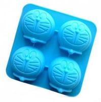 Cartoon Muffin Pan Doraemon Silicone Muffin Mould 4-in-11