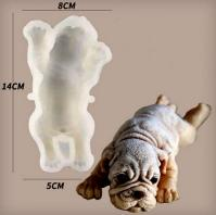 Silicone 3d Dog Mould for Mousse Cake Soap Ice Cream1