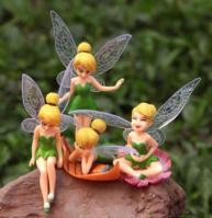 Cartoon Tinkerbell Figurine 4 in 11