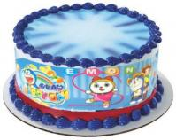 10 inches Doraemon Plastic Cake Border1