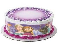10 inches Frozen Plastic Cake Border1