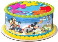 10 inches Mickey Mouse Plastic Cake Border1