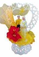 Malay Bride and Groom Grand Wedding Cake Topper1