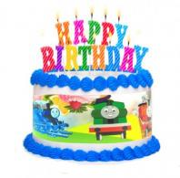 10 inches Thomas The Tank Plastic Cake Border1