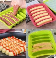 Silicone Hot Dog Sausage Mold Mould1