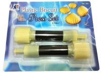Acuan Tart Kerang  EID 182 Seashell Cookie Press Cookie Cutter 1605B1