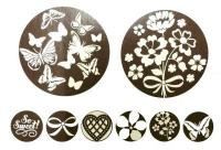 Cake & Cookie Stencil Butterfly  Spring Flower 8-in-1 1509B1