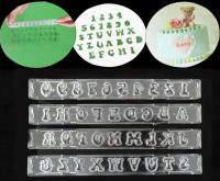 Block Exotic Capital Tappit Alphabet & Number Cutter Set1