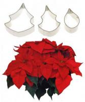 S/S Christmas Poinsettia Fondant Flower Cutter Set 3 pcs1