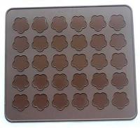 Cherry Blossom Macaron Silicone Mat Baking Sheet1