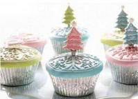 Christmas Cupcake Impression Mat set of 31