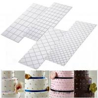 Quilted Icing Texture Sheet Impression Mat 4pc1