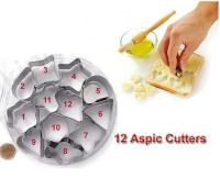 S/S Aspic Shape Cutter 12 pcs1